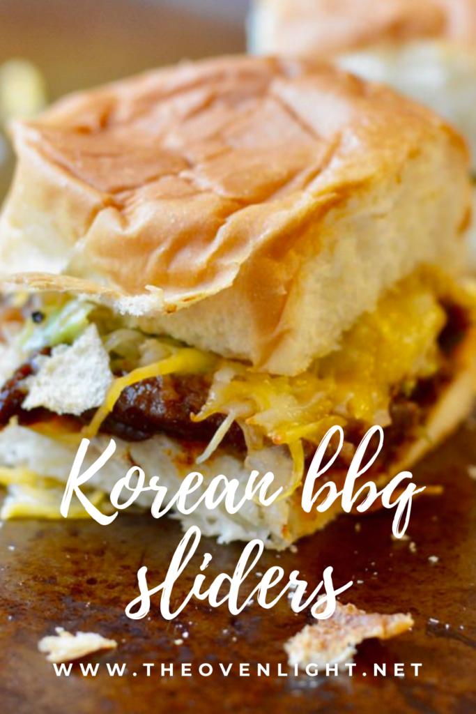 Korean BBQ Sliders with simple kimchi and sesame mayonnaise. Made perfect on Hawaiian rolls. #traderjoes #sliders #korean