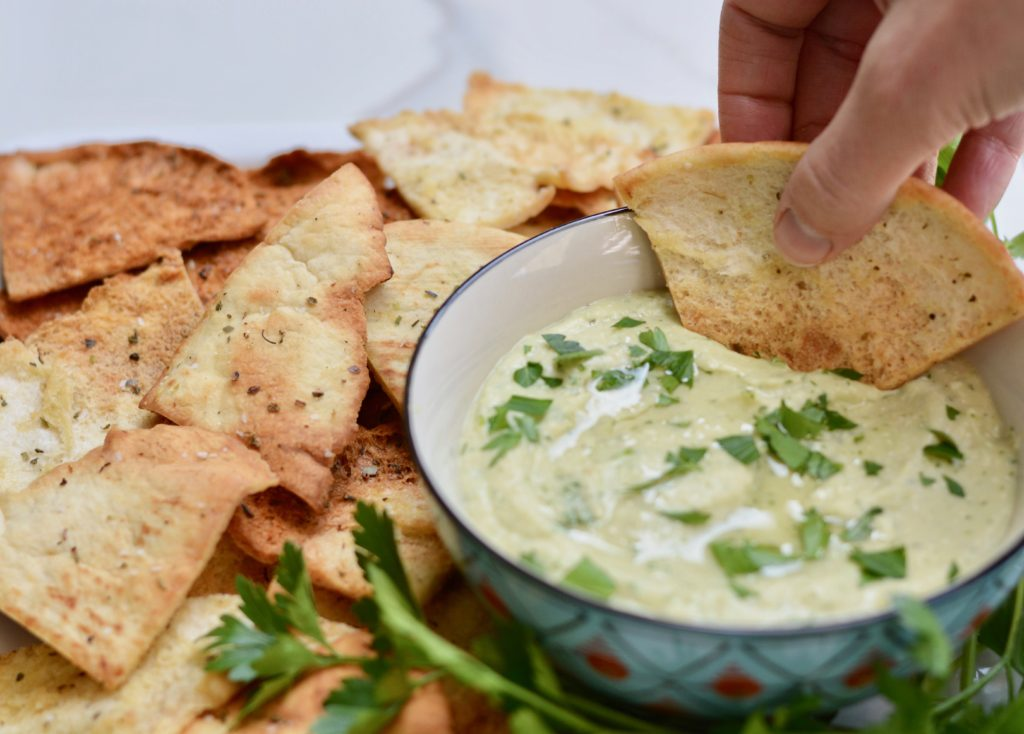 White bean dip with feta - make in a flash and so delicious and nutritious! Change it up for your next party!