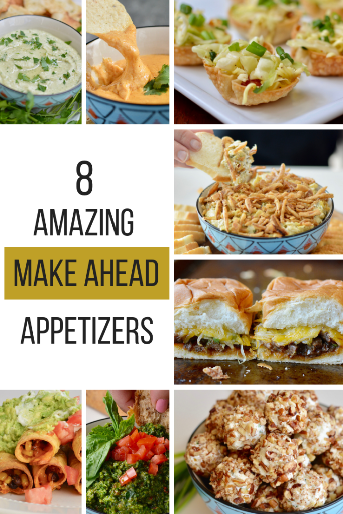 8 Amazing Make Ahead Appetizers to Please a Crowd