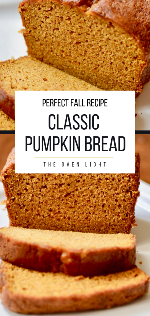 Perfect Pumpkin Bread - Make Ahead Freezer Friendly. Makes great gifts for friends and neighbors. Deliciously moist and easy. #fallrecipes #pumpkin #pumpkinbread #bread #breakfast #thanksgiving