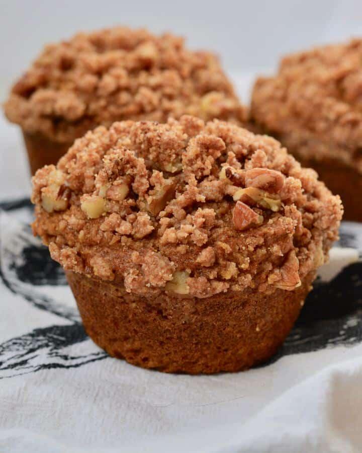 Everyday Pumpkin Muffins - No Refined Sugar