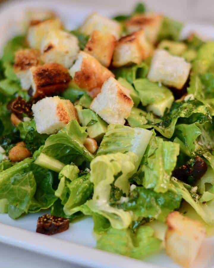 Healthy Salad Dressing to Help Prevent UTI's - Garlic, Parsley, Apple Cider Vinegar, Olive Oil