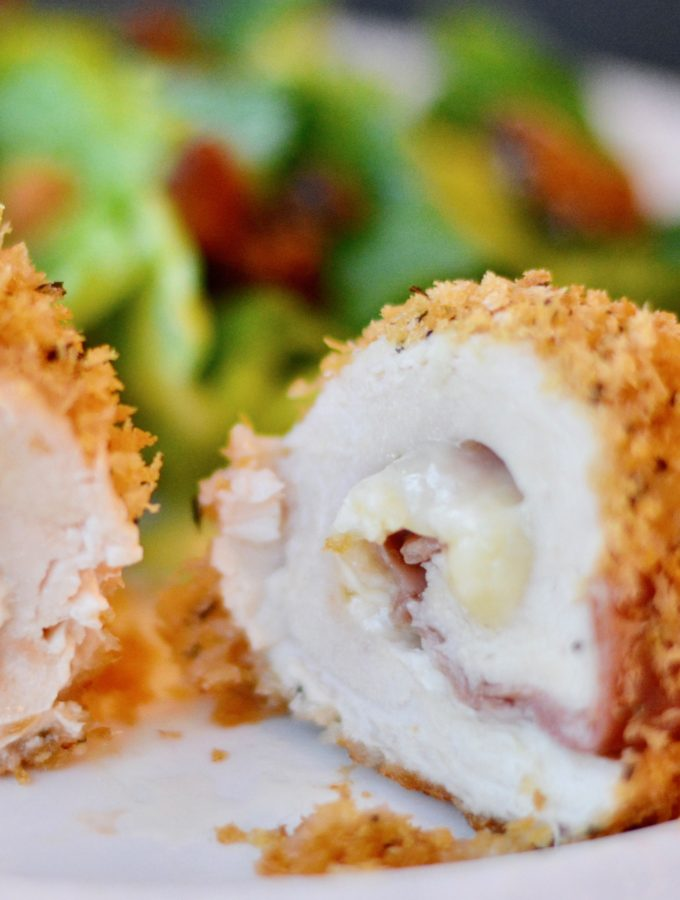 easy baked chicken cordon blue