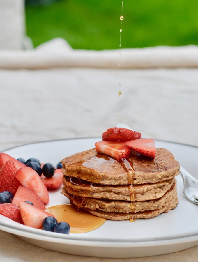 Protein Stacks Pancakes | Gluten Free, full of protein