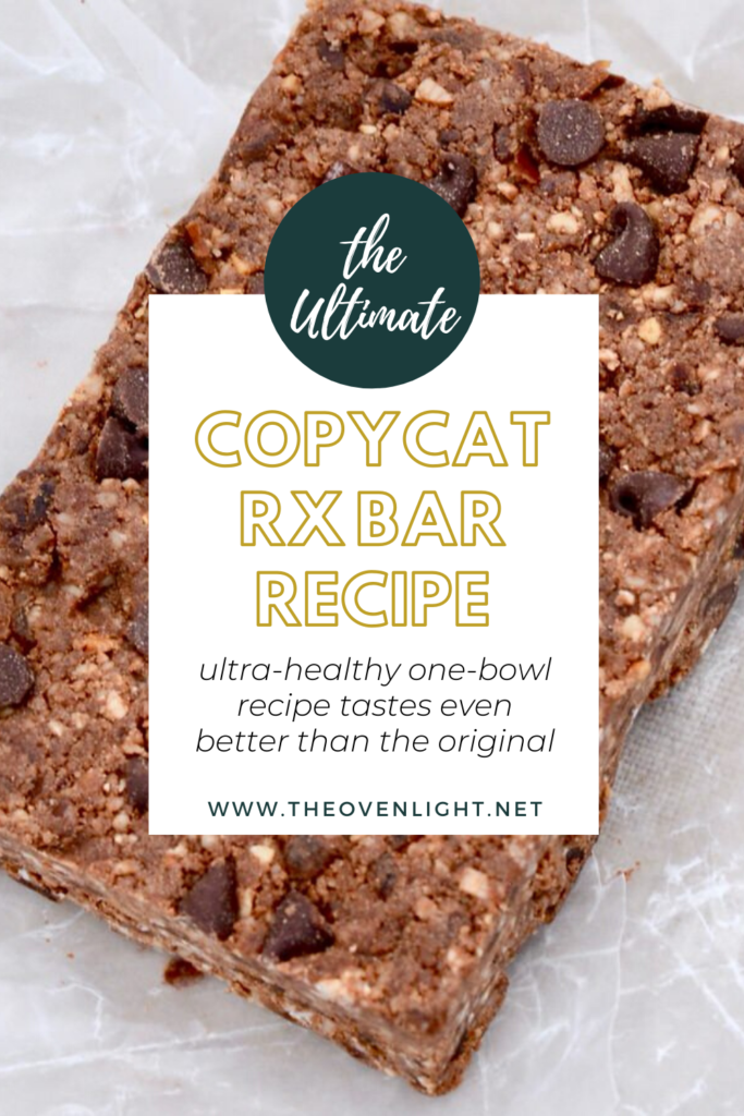 Copycat Rx Bar Recipe - simple recipe, healthy enough for the entire family