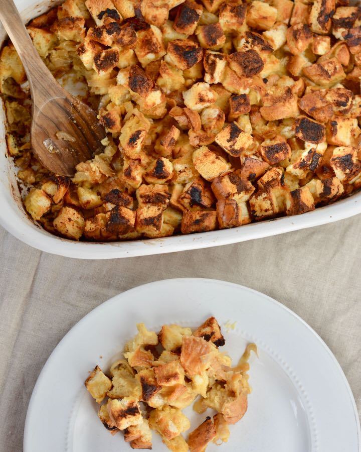 Miso Stuffing - Bread cubes - Side Dish