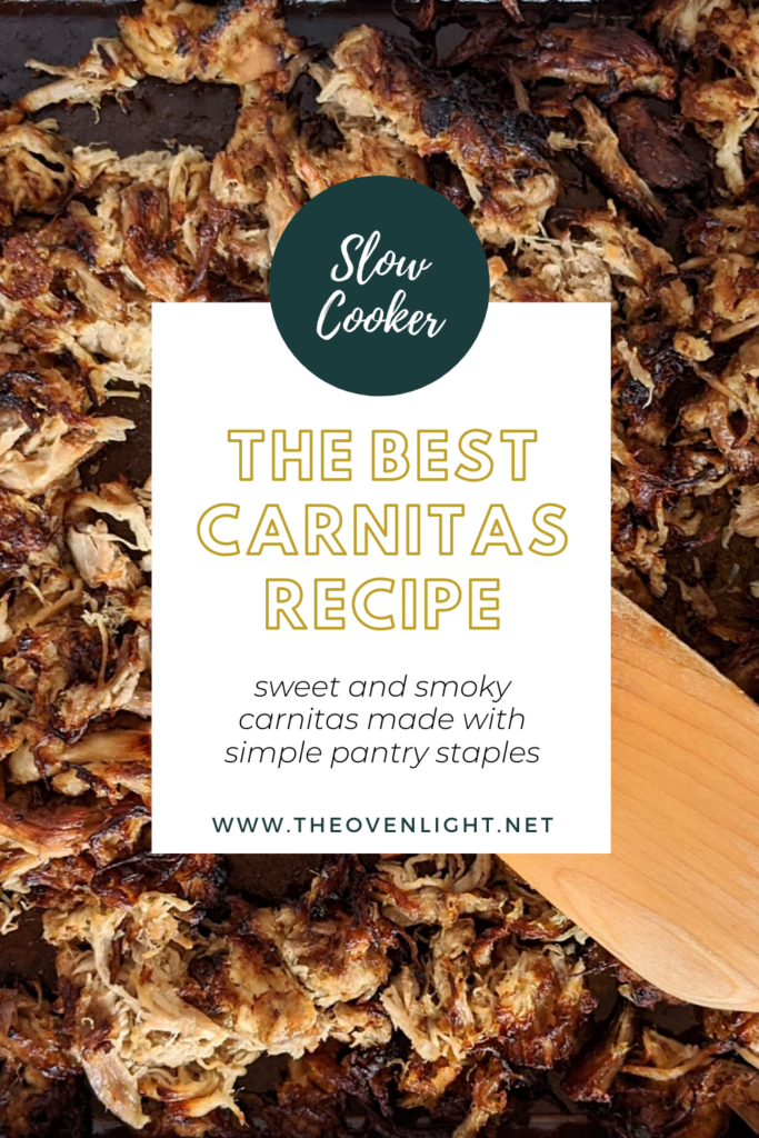 Wonderful Slow Cooker Carnitas | Sweet and smoky and utterly perfect on any Mexican dish