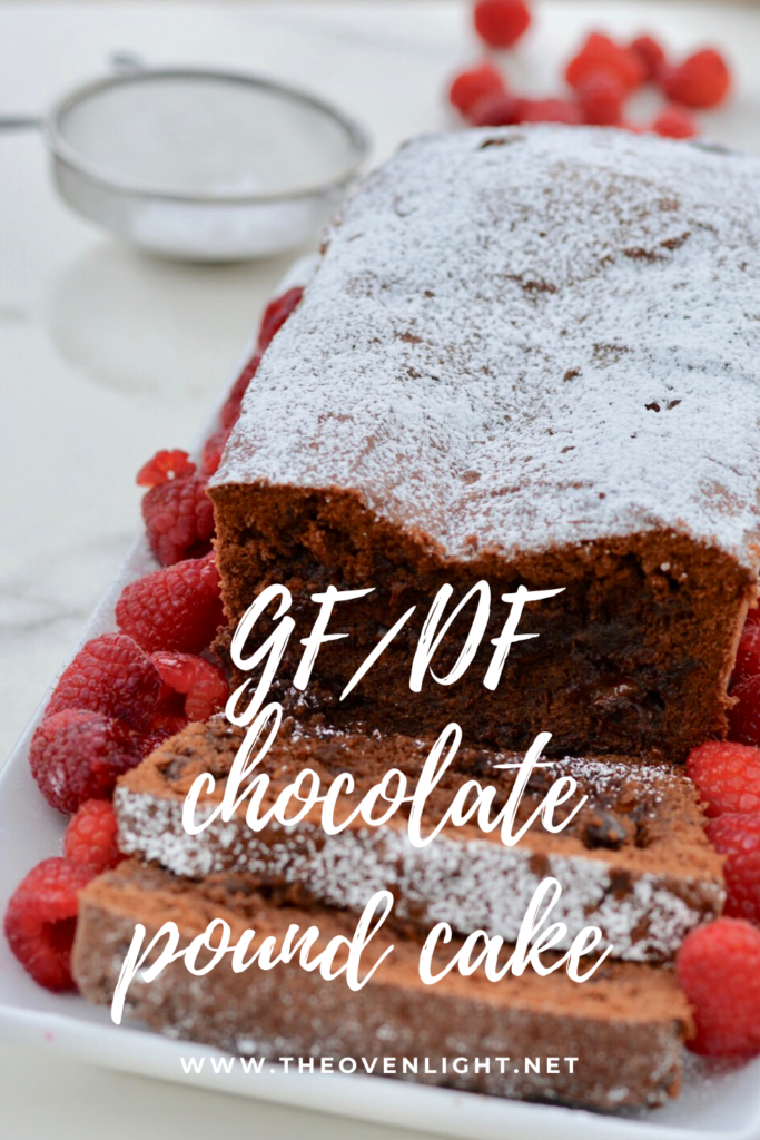 Chocolate Pound Cake | Gluten Free, Dairy Free recipe - full of amazing fudgy dark chocolate. #poundcake #glutenfree #dairyfree #chocolate