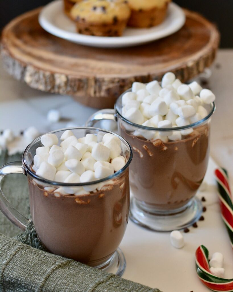 Best Basic Hot Chocolate Recipe | Great for the holidays. So much better than powdered mixes!