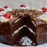 Black Forest Cake Recipe | Super Rich and Super Easy. Made extra flavorful with a pudding mix, and chocolate ganache.