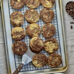 Marble Cookies | Simple twist on a classic holiday cookie—delicious all year round! Soft and so chocolatey.