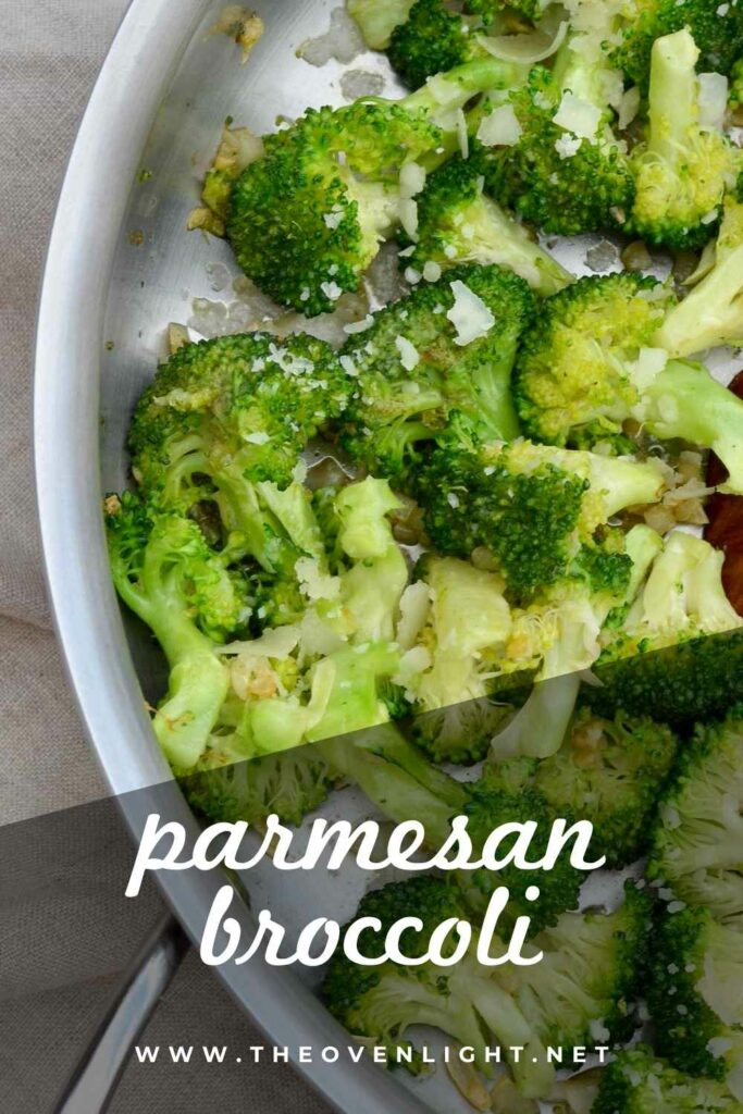 Perfect Parmesan Broccoli for a delicious vegetable side dish—Great with any meal, but especially perfect for Thanksgiving. #healthy #broccoli #parmesan