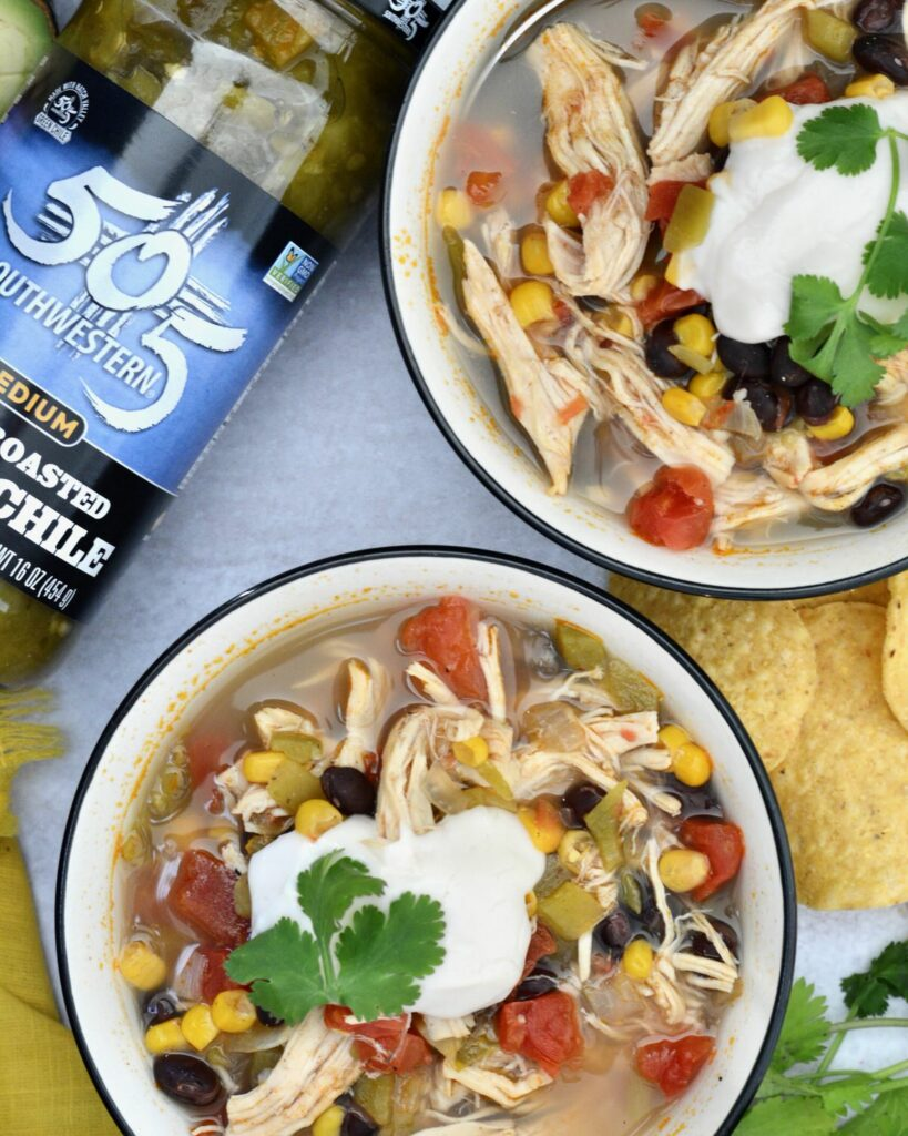 505 Southwestern Hatch Green Chiles make this Tortilla Soup something you'll crave. Deliciously spiced, perfectly healthy and totally simple - the ideal winter recipe!